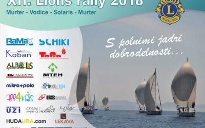 Humanitarna regata LK Konjice XII. Lions rally 2018