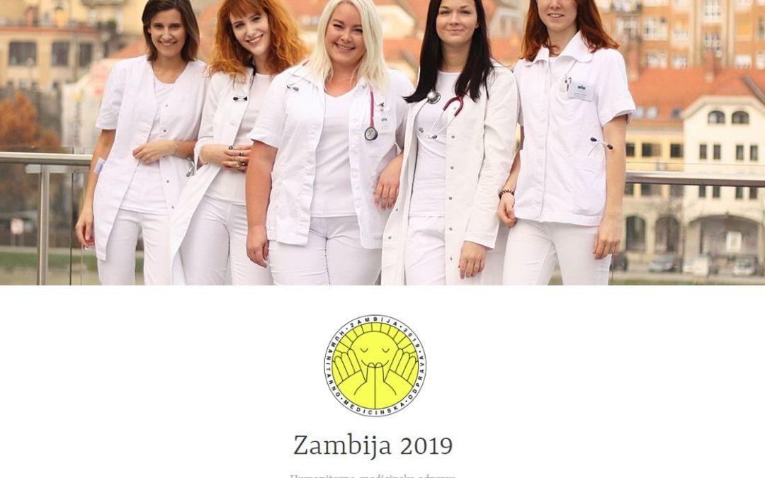 PODPORA LIONS KLUBA KONJICE – HUMANITARNA ODPRAVA ZAMBIJA 2019